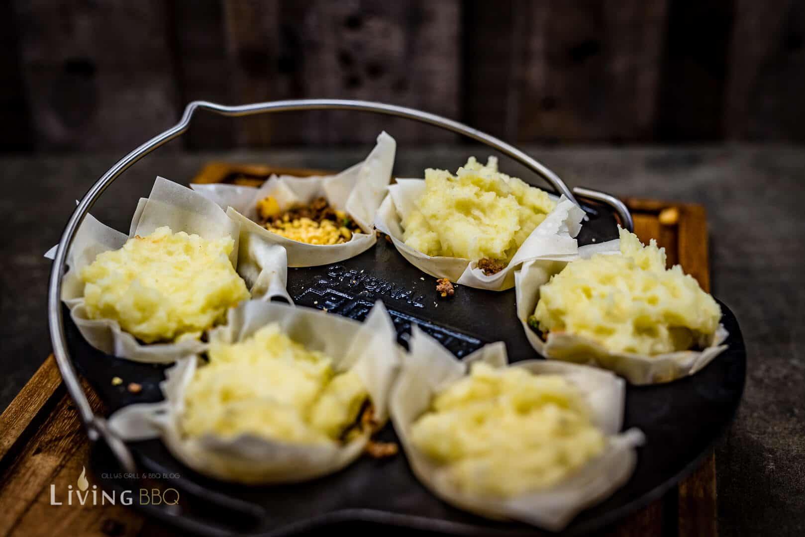 Kartoffelhaube aus Püree