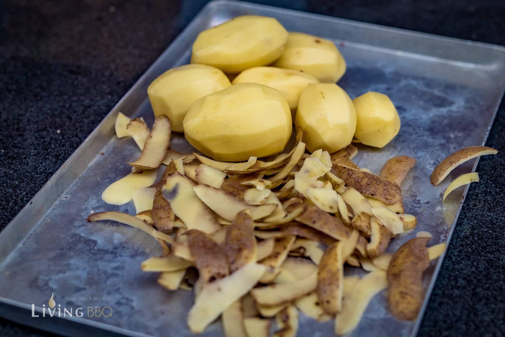 Kartoffeln schälen und kochen