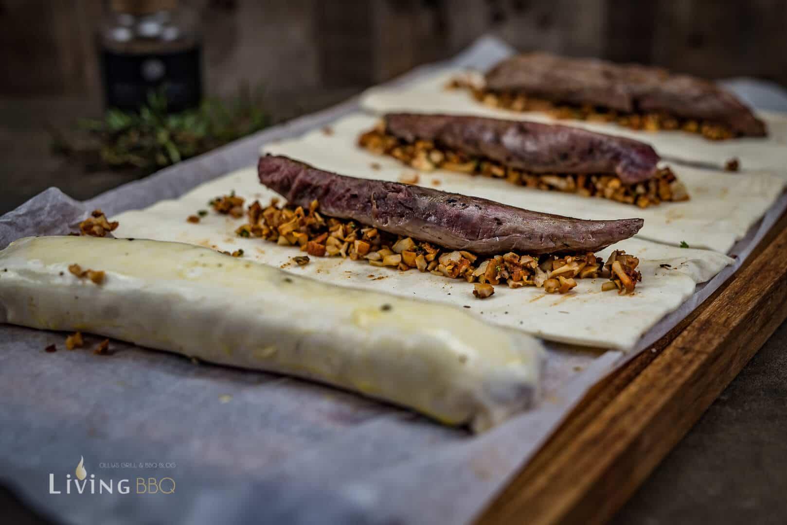 Filet Wellington mit Rehfleisch _Rehfilet Wellington 15 von 20
