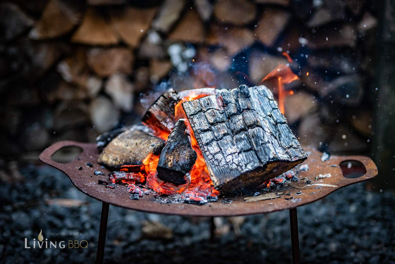 Holzfeuer Caveman Steak