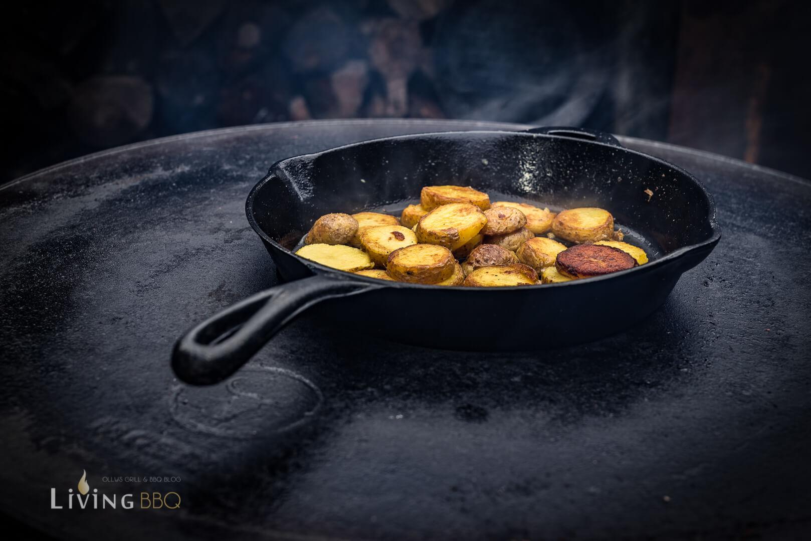 Kartoffeln anbraten