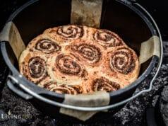 Zimtschnecken aus dem Dutch Oven