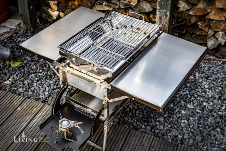 CampFeuer BBGo Campinggrill Mobiler Holzkohlegrill Im Test