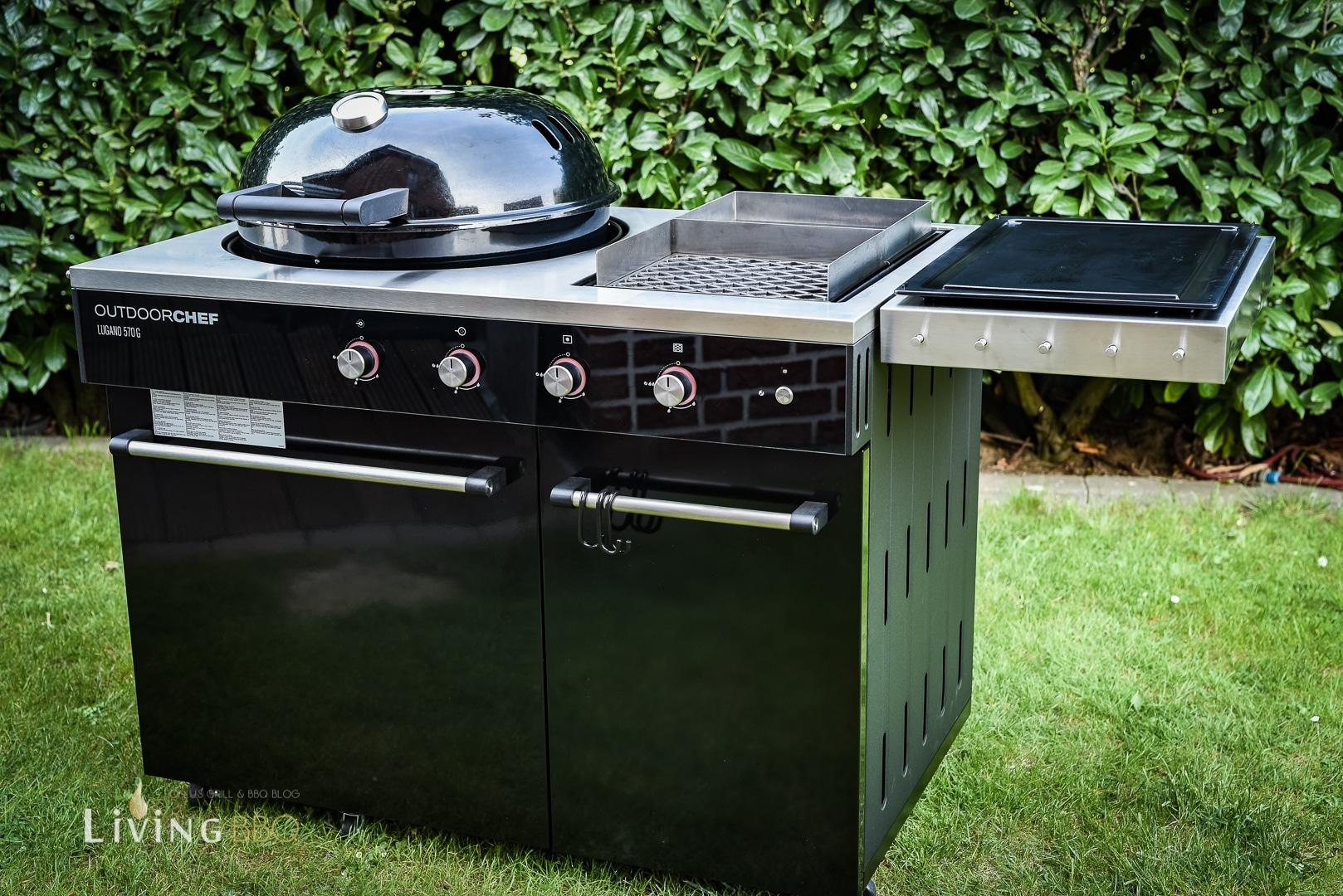 Outdoorchef Lugano 570G - Die neue Gasgrill Outdoorküche - Living BBQ