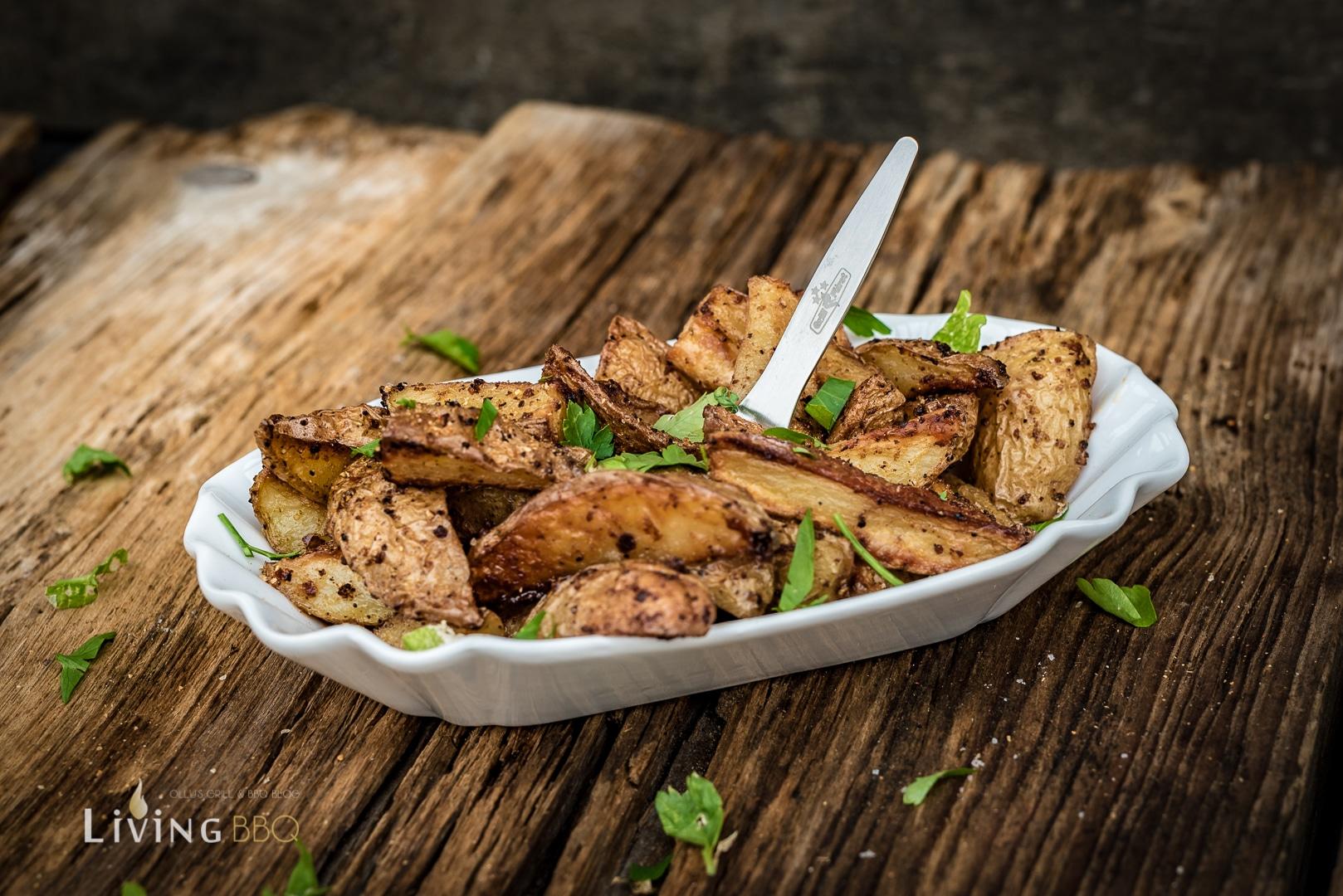 Kartoffelecken Potato Wedges grillrezepte_Kartoffelecken 4 von 4