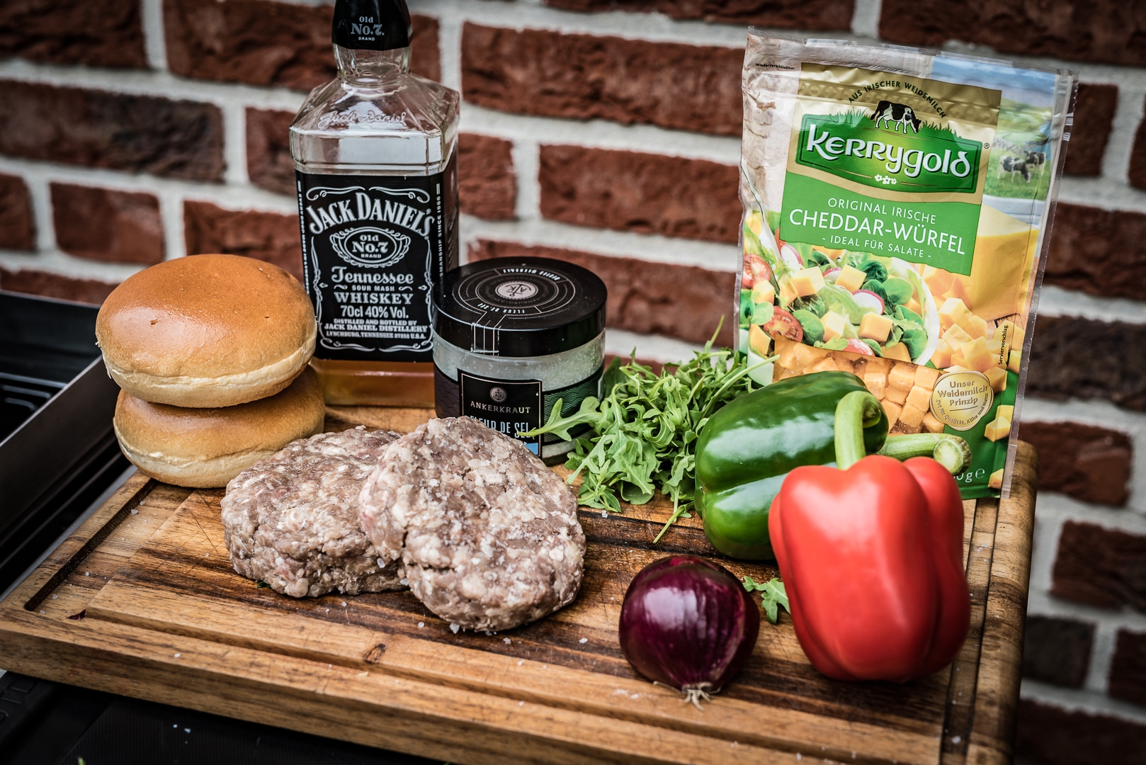 Whiskey Burger Zutaten
