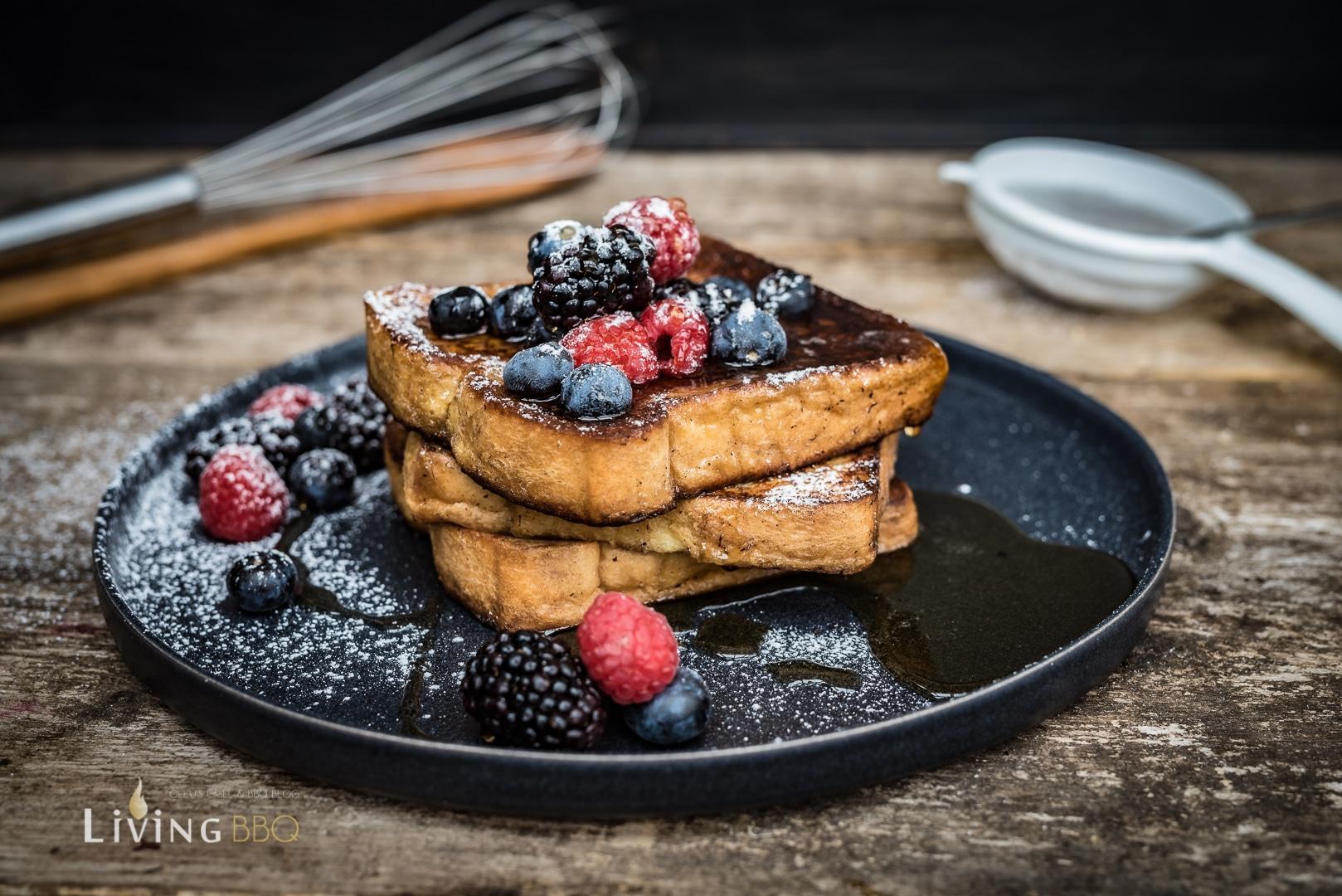 French Toast Rezept mit Früchten