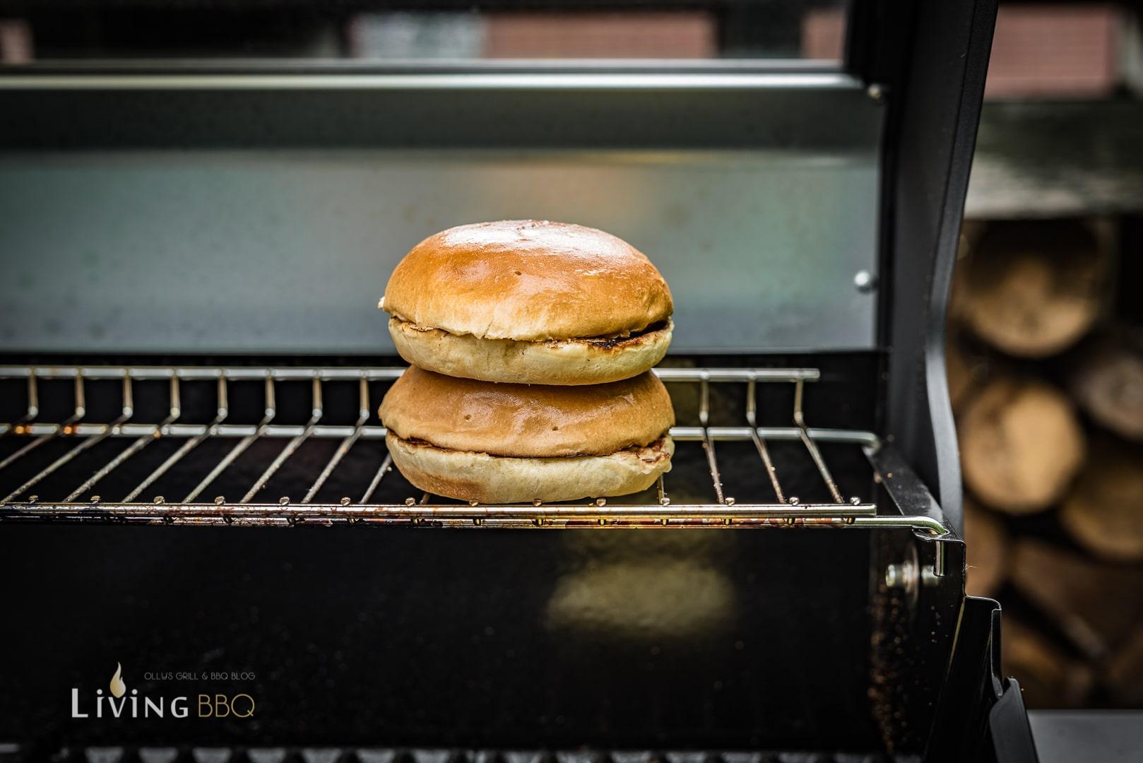 Burger Buns warm halten