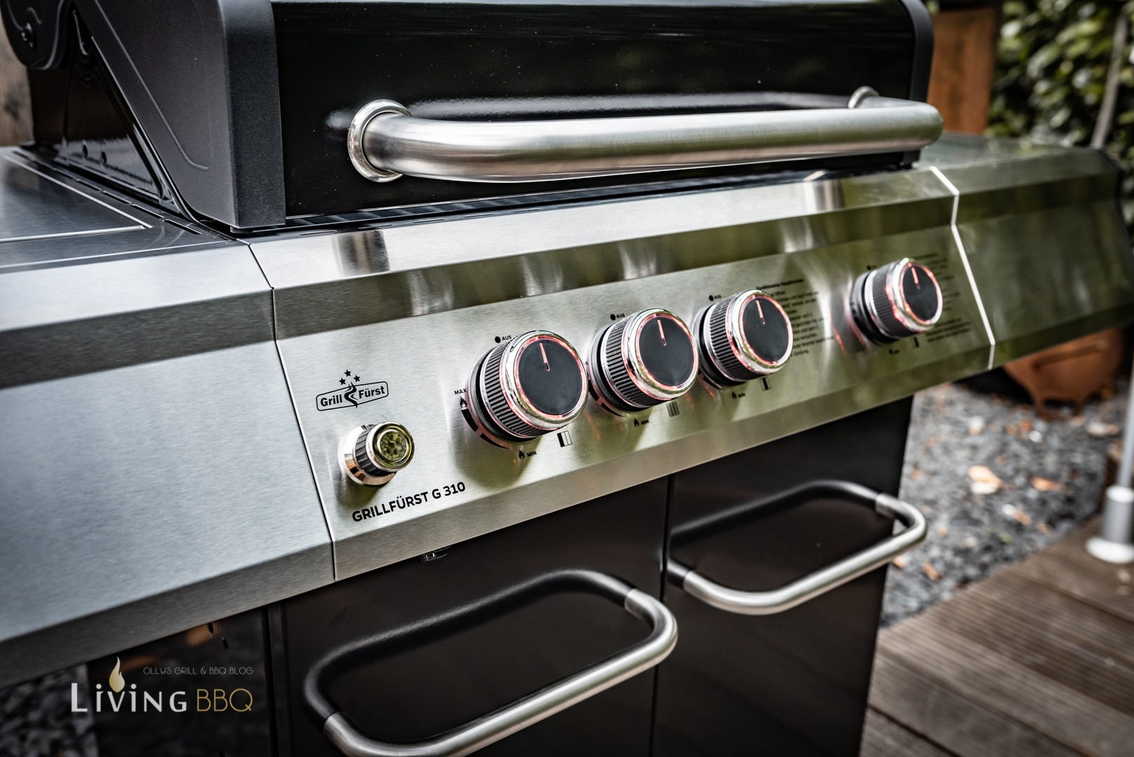 G310 Gasgrill Front