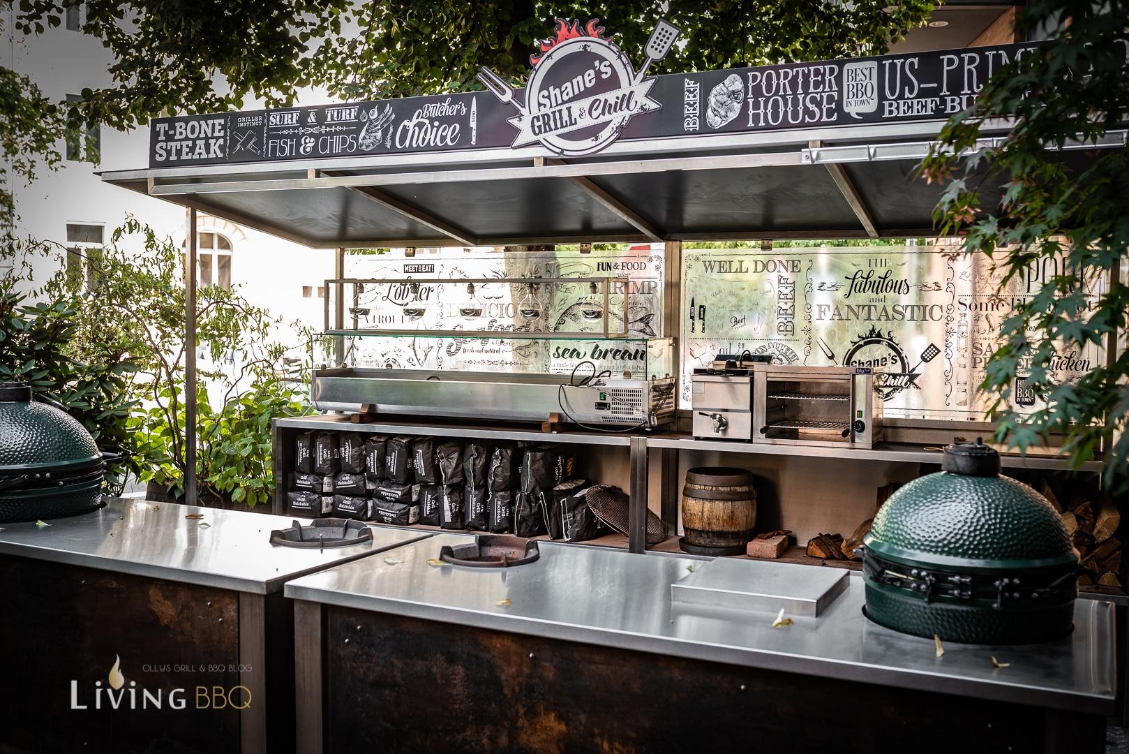 Shane´s BBQ Außenküche