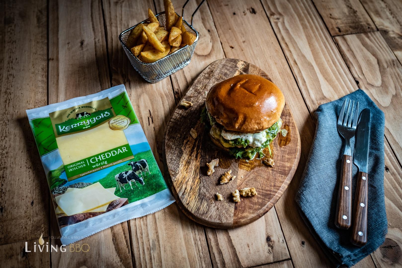 Kerrygold Cheddar Burger