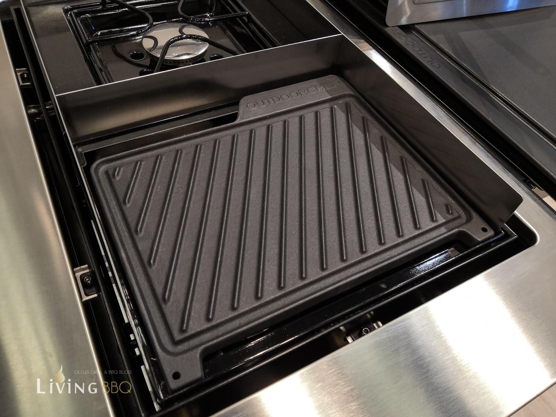 Griddleplatte für den Steakbrenner bei Outdoorchef