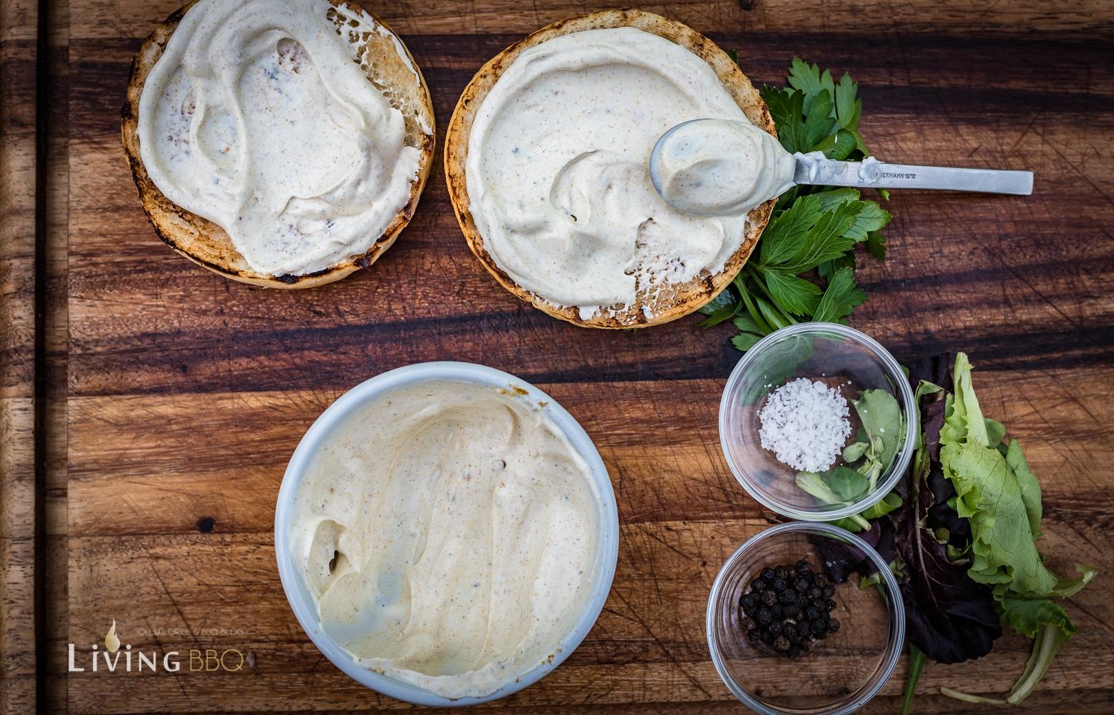 Creme Fraiche mit Garam Marsala