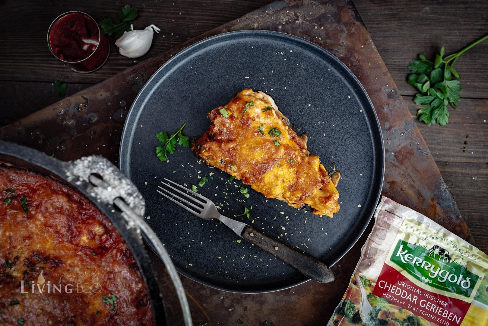 Sucuk Lasagne mit irischem Cheddar von Kerrygold