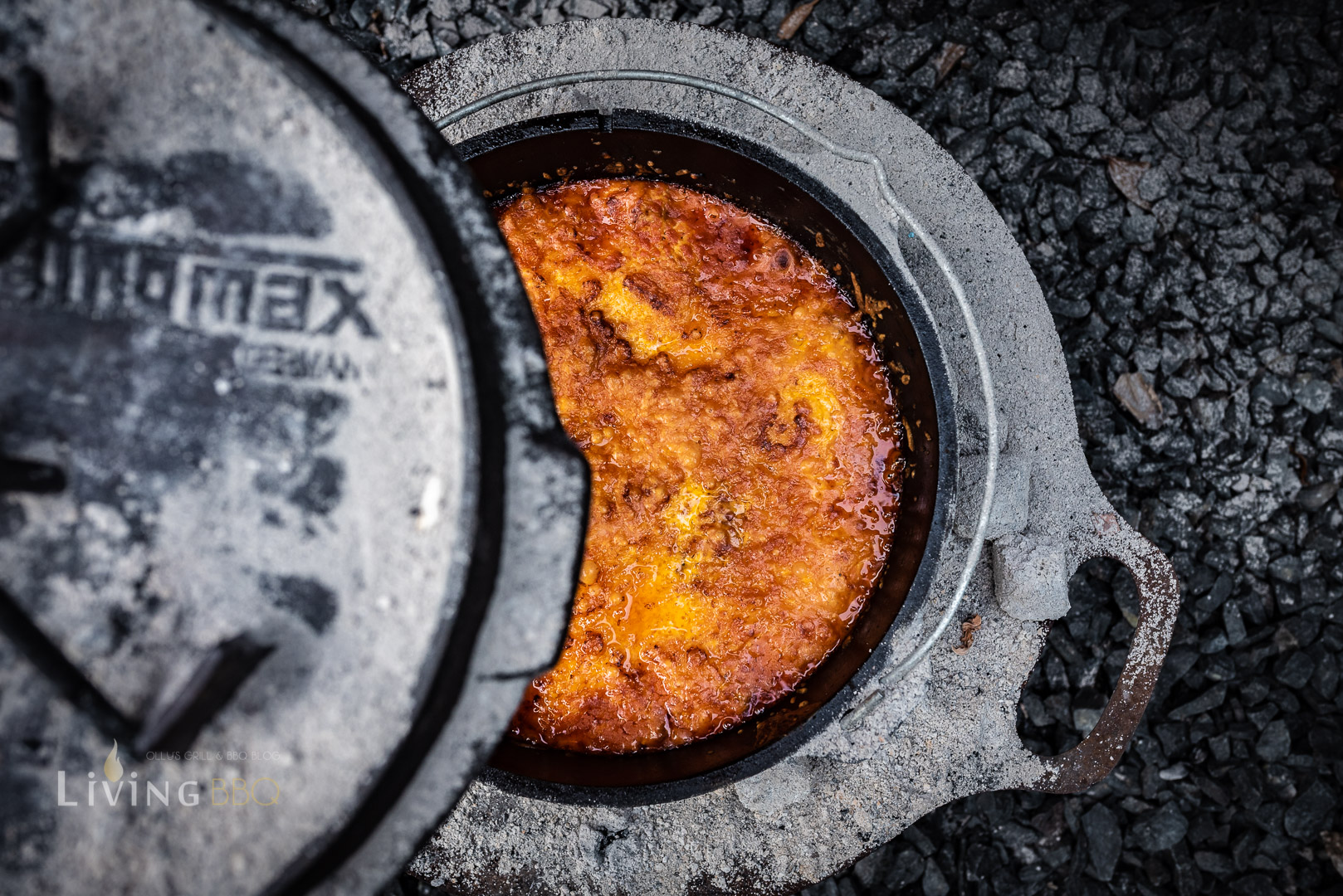 Sucuk Lasage aus dem Dutch Oven
