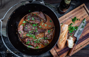 Guinnes Short Ribs Dutch Oven