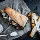 Short Ribs Sandwich
