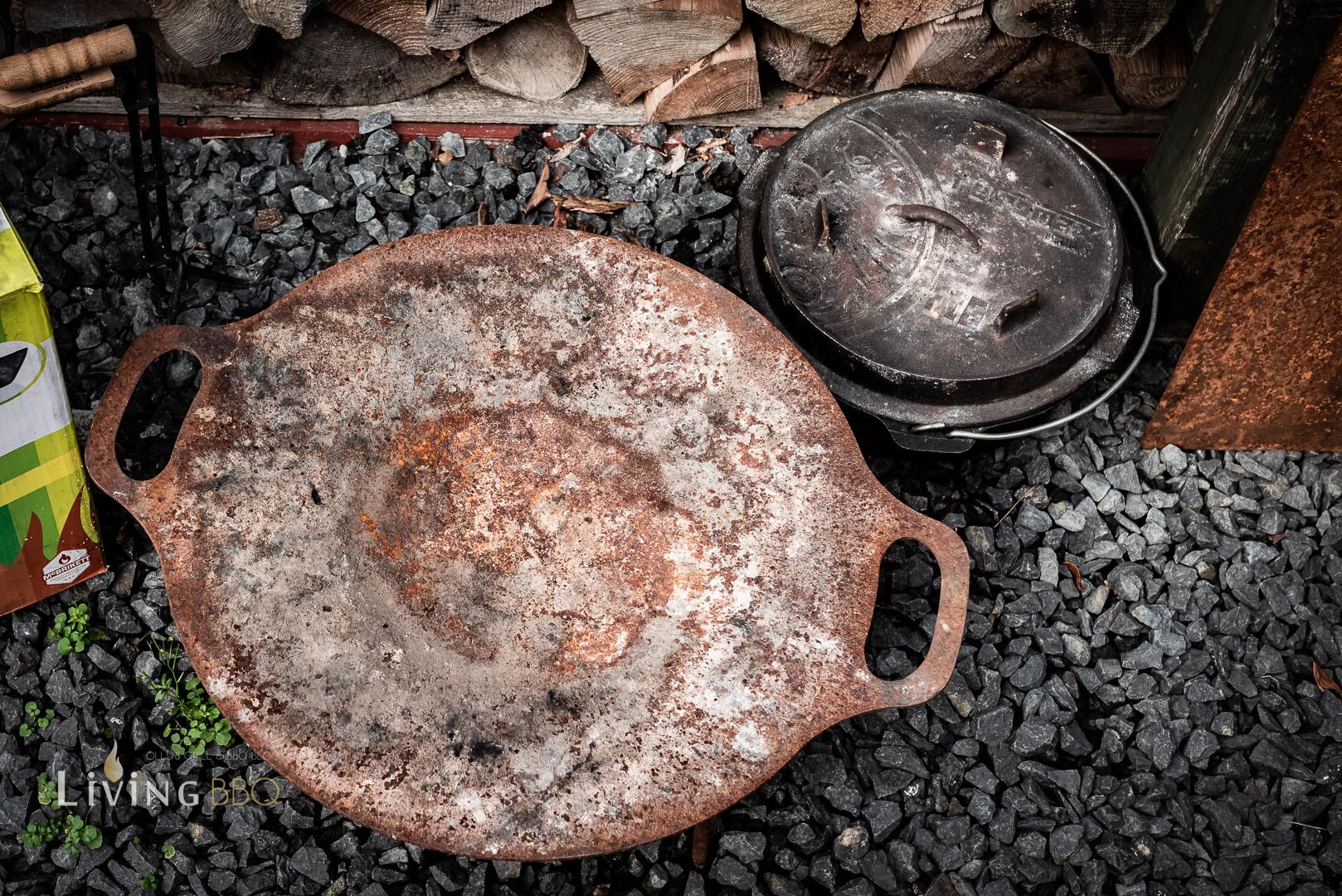 Feuerschale und Dutch Oven