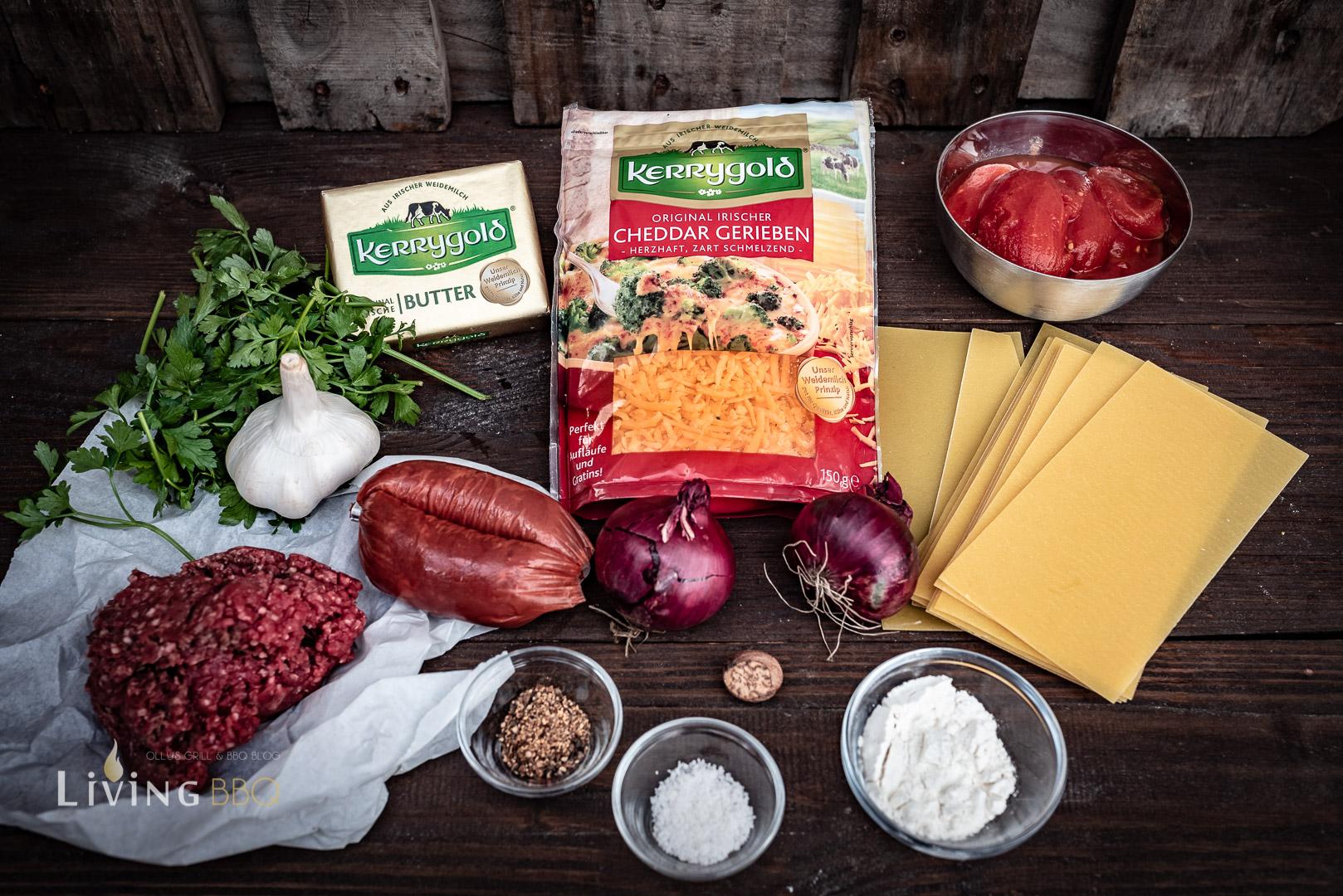 Zutaten Sucuk Lasagne