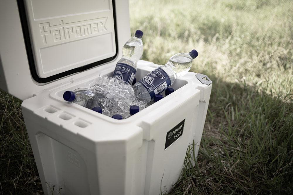 25 und 50 Liter Fassungsvermögen