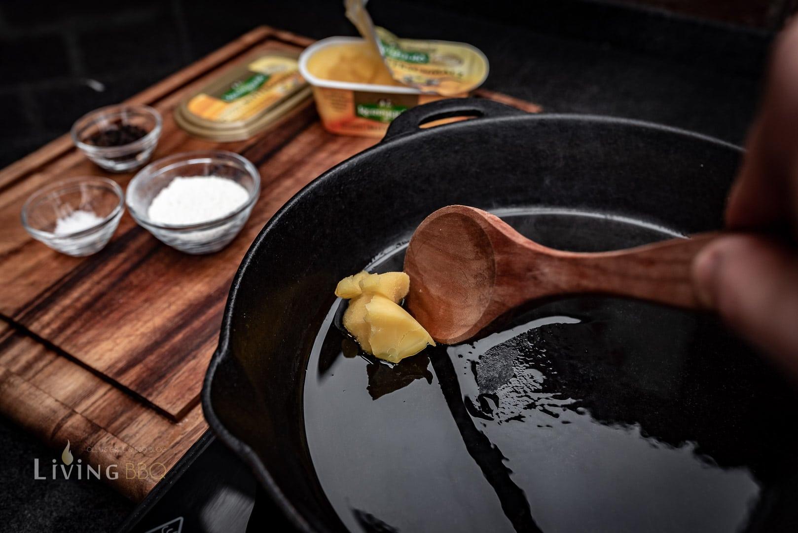 Kerrgold Butterschmalz erhitzen