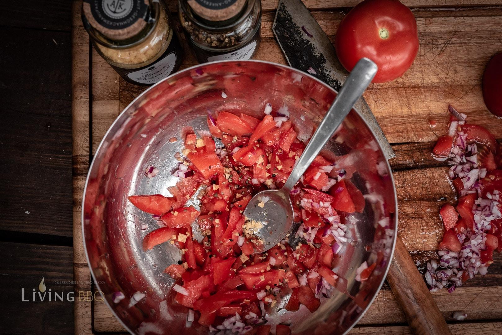 Tomatensalsa für Burger