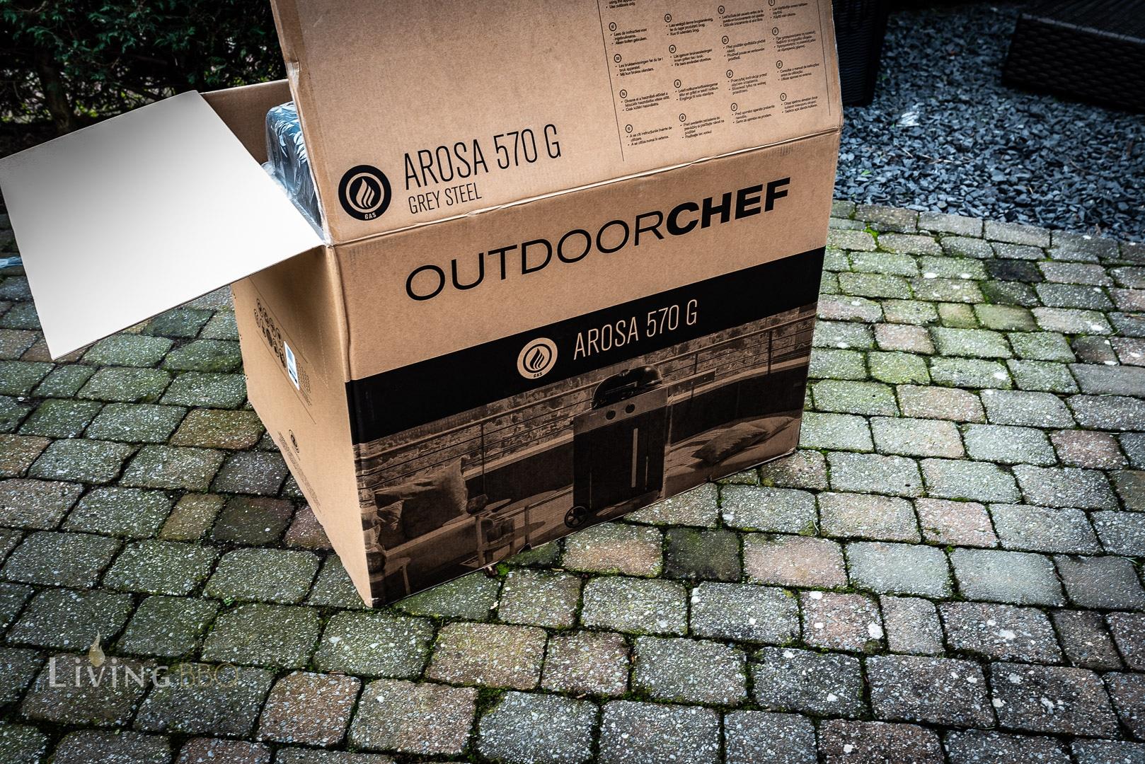 Aufbau des Outdoorchef Arosa 570 G