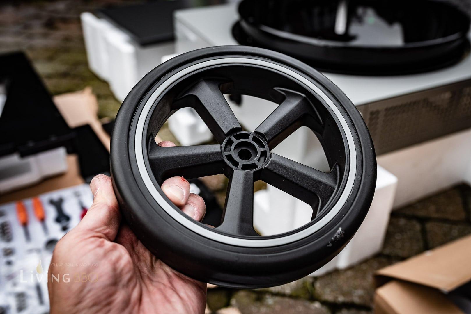 Anbau der Räder an den Arosa 570 G