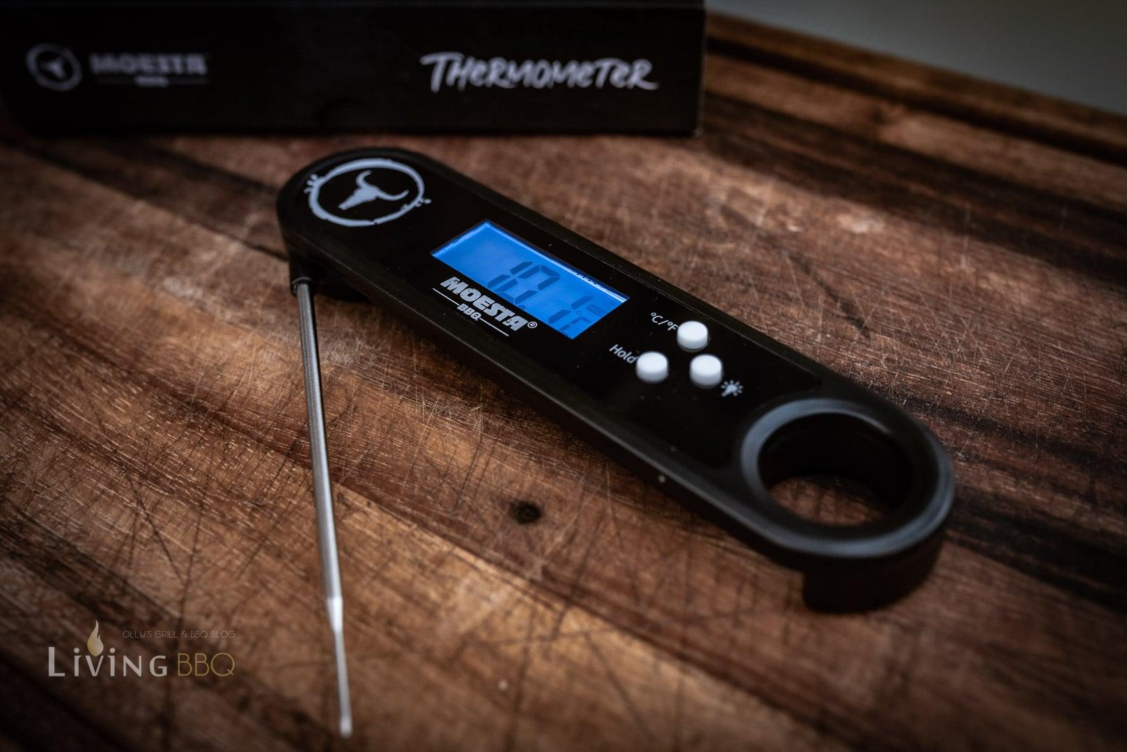 Einstichthermometer Grillthermometer