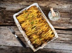 Blätterkartoffeln mit Oregano-Salz