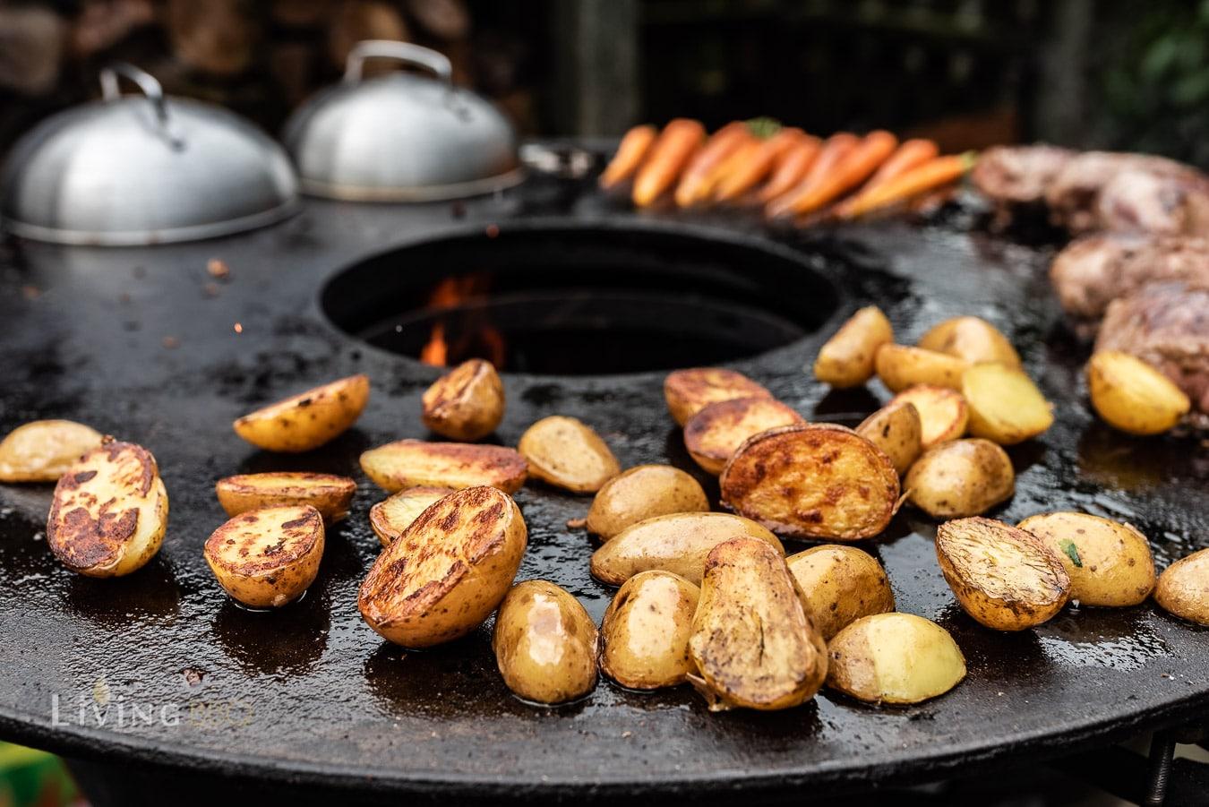 geröstete Kartoffeln