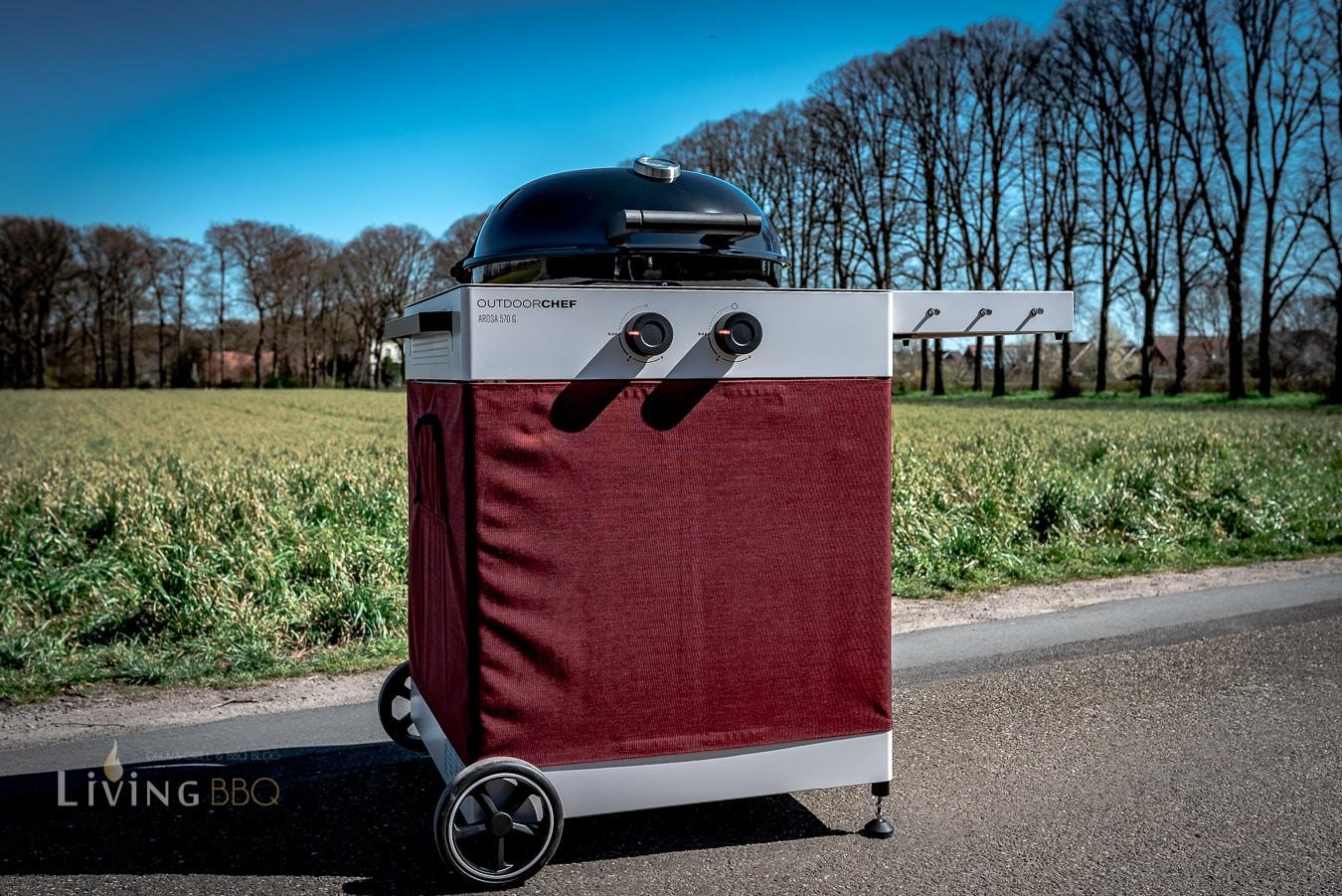 Outdoorchef Arosa 570 G Tex mit Velvet Red Textil