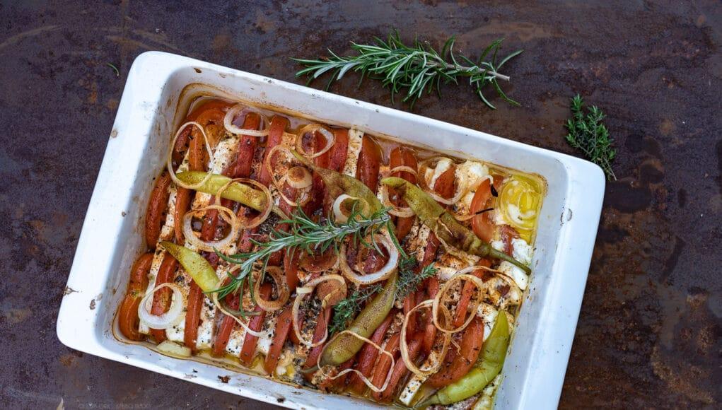 Heißer Salat vom Grill