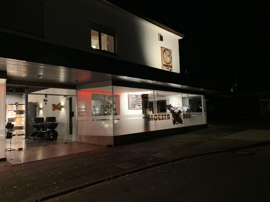 Moesta-BBQ Ladenlokal in Löhne