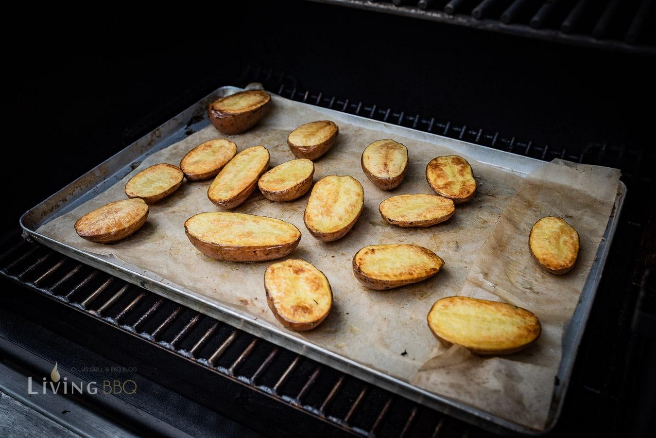 fertig gesmoked Backkartoffeln