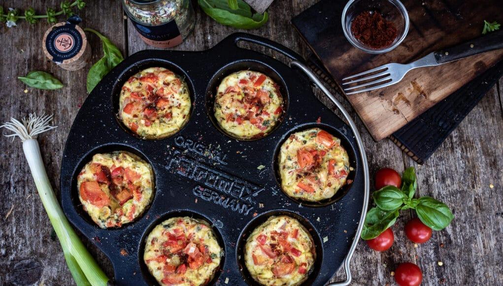Frühstücksmuffins vom Grill - Outdoorcooking