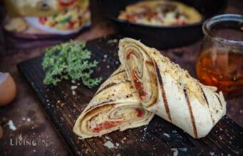 Omlett Burrito Frühstück