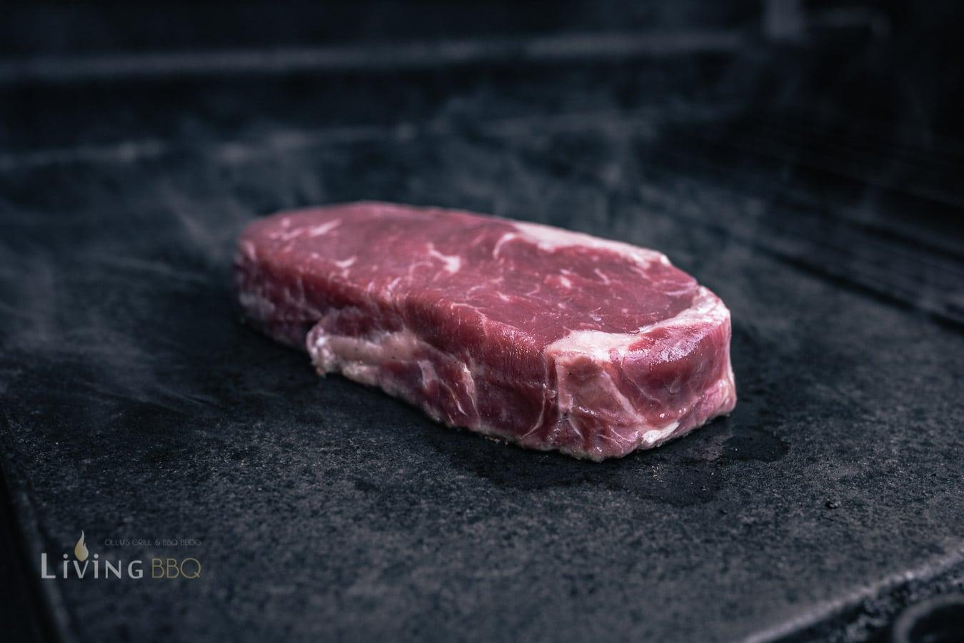 Steak für Tacos grillen
