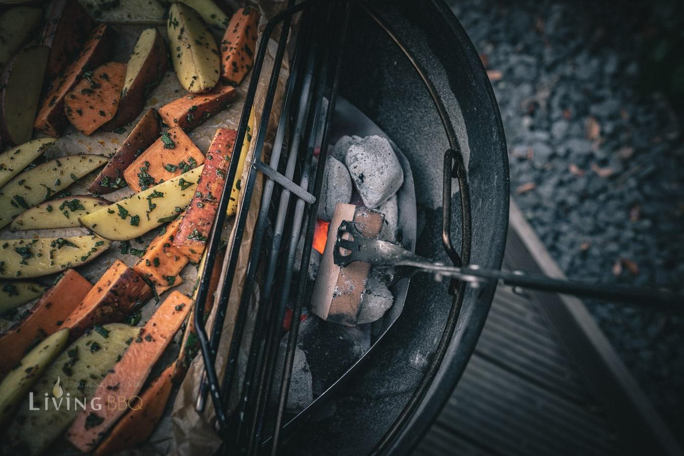 Weber Kugelgrill zum Grillen