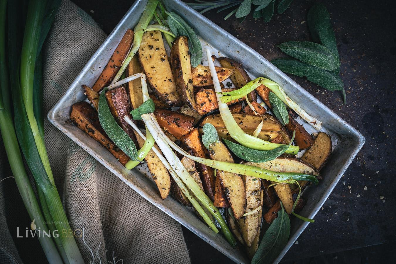 Salbei Kartoffeln vom Blech