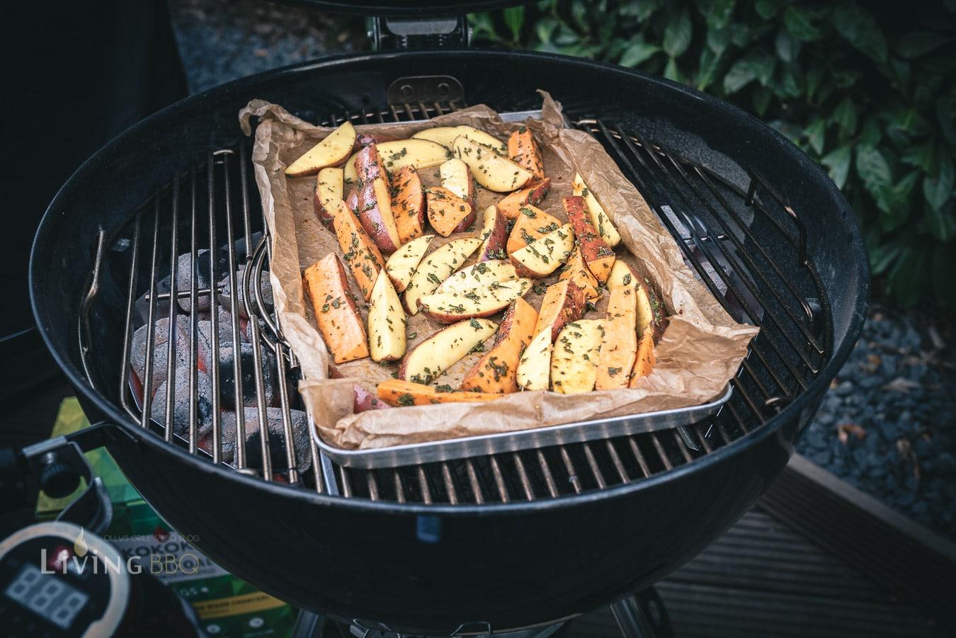 Salbei Kartoffeln im Grill