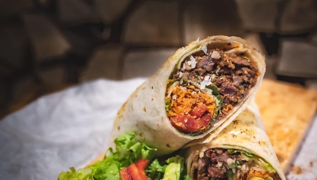 Beef Short Ribs Burrito
