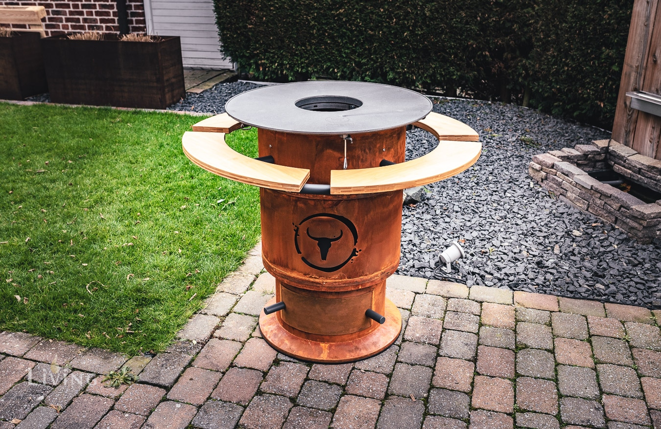 Moesta-BBQ Fireplace