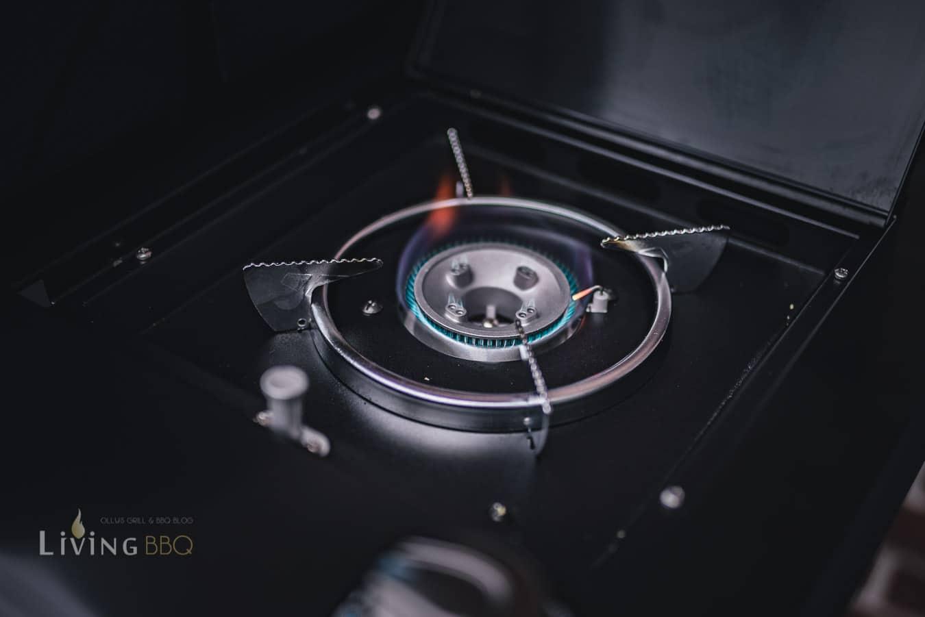 Seitenkocher des Campingaz 4 Series Onyx S