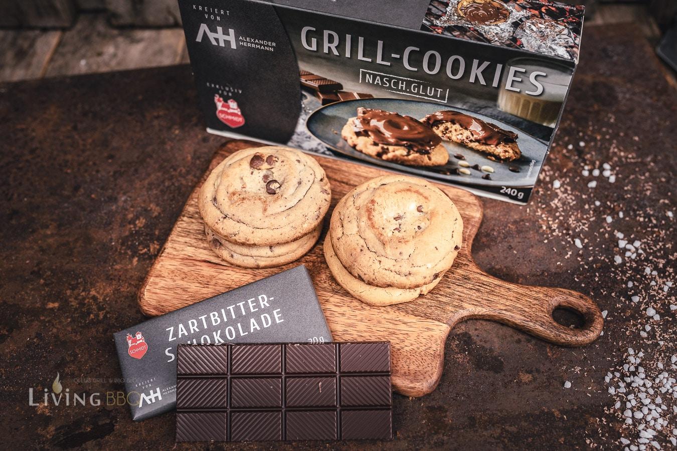 Grill Cookies von Lebkuchen Schmidt und Alexander Herrmann