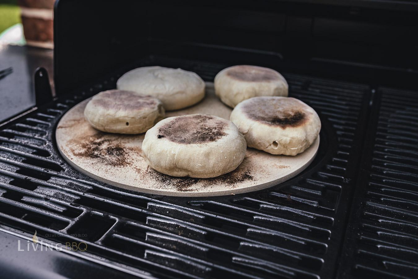 English Muffins - Toasties - Toastbrötchen backen