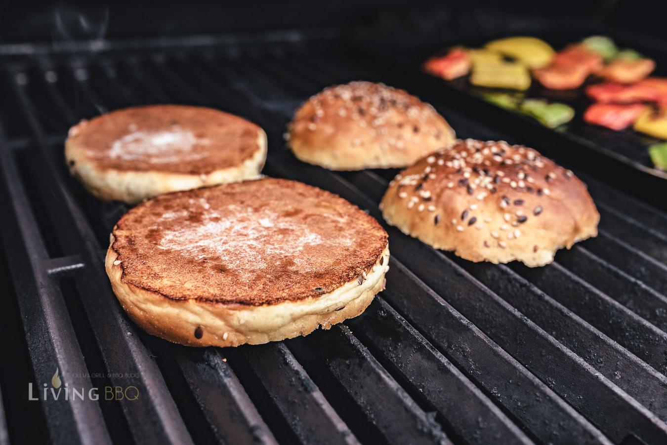 Burger Buns anrösten