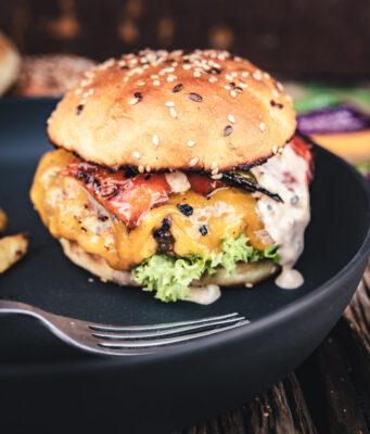 Paprika Burger Kerrygold Cheddar Burger Challenge