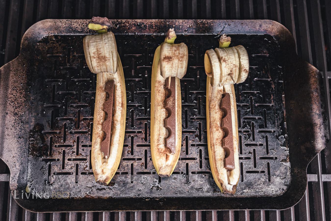 Bananen grillen
