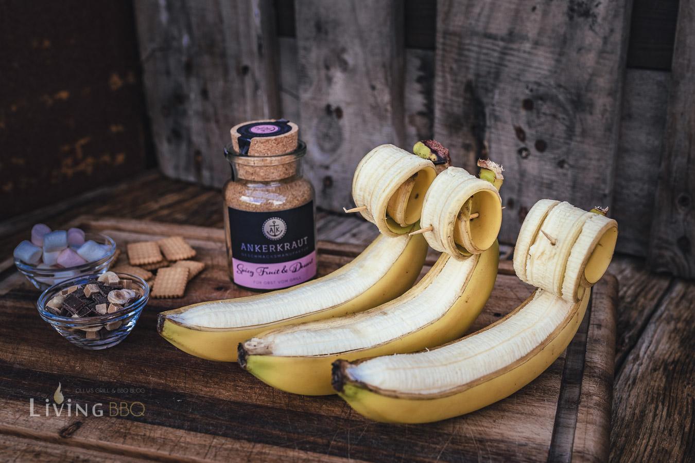 Banane begradigen